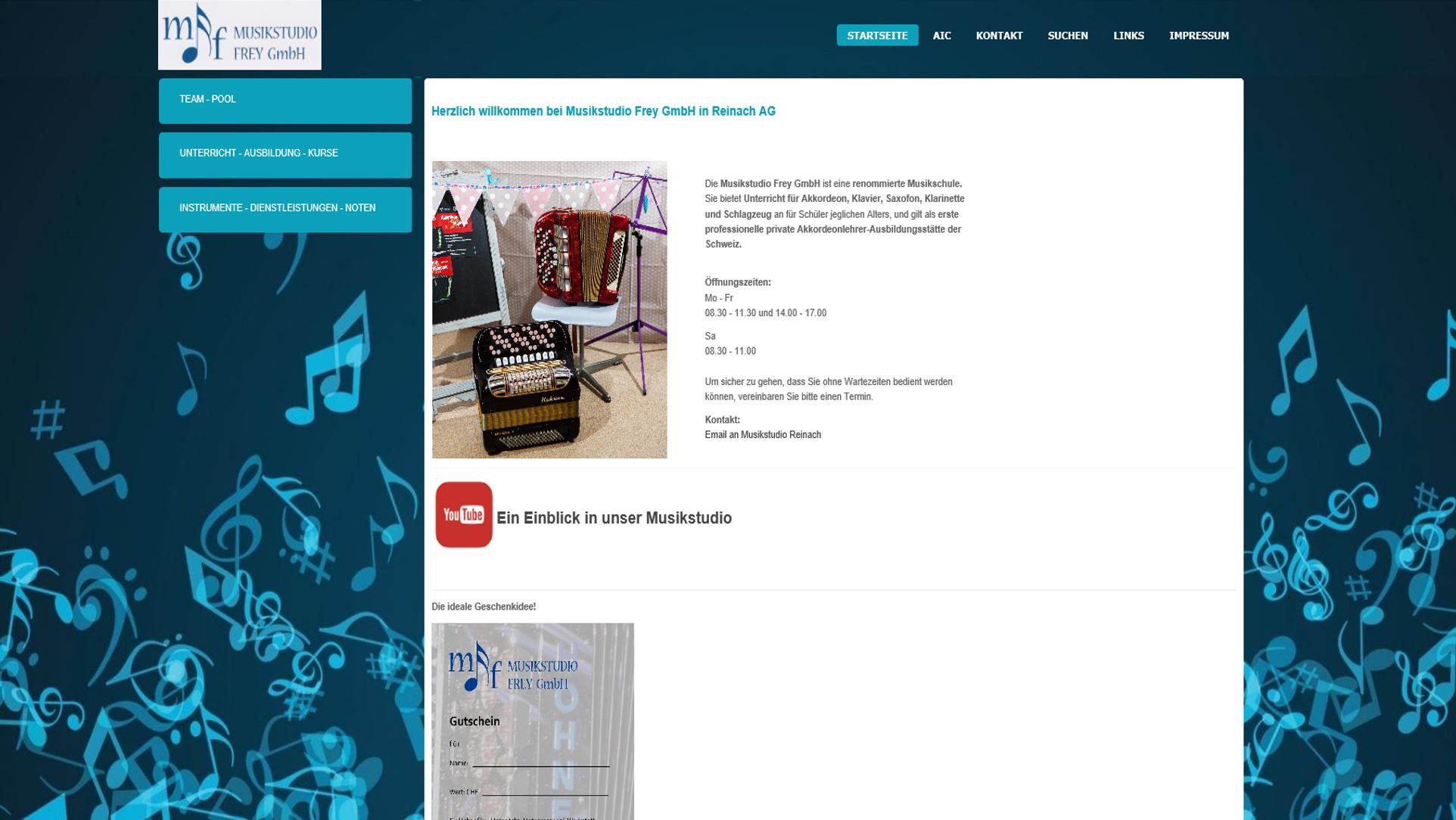 Musikstudio Reinach